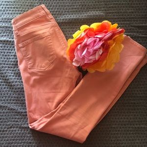 Paige Verdugo Ankle Pants Coral/Peach/Orange